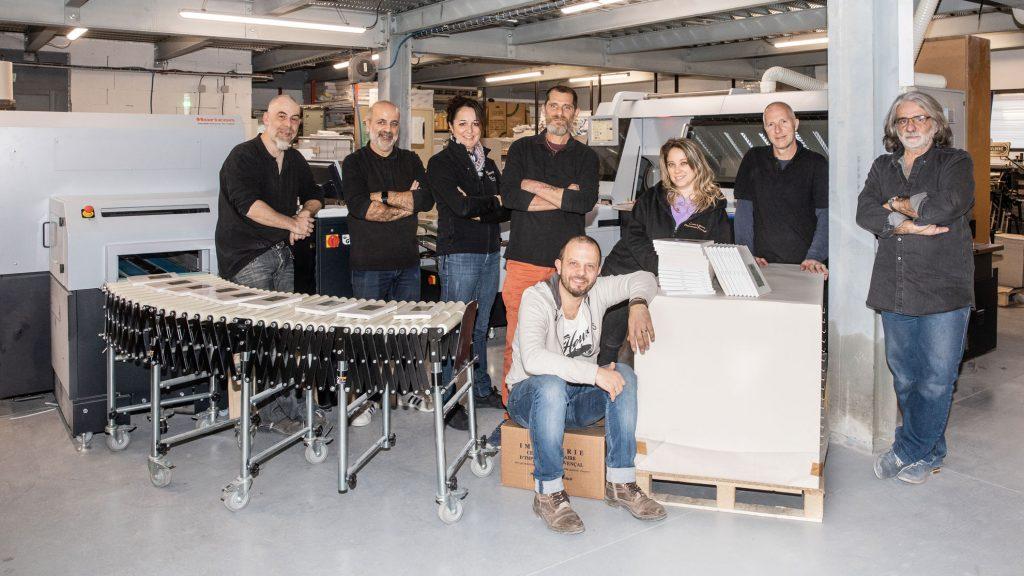 Equipe de professionnels et d'experts pour imprimer des livres