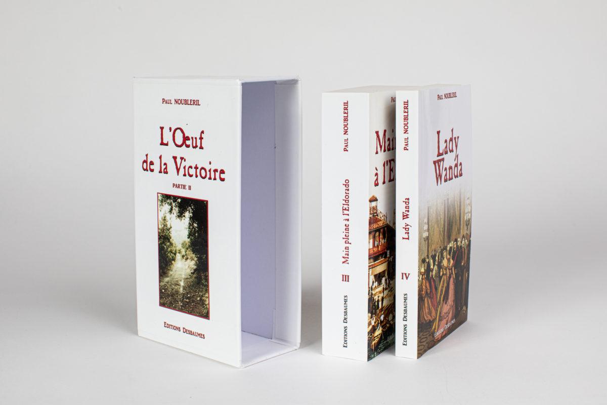 Impression de livres et de romans
