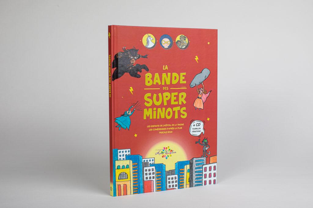 Impression de livre type bandes-dessinées