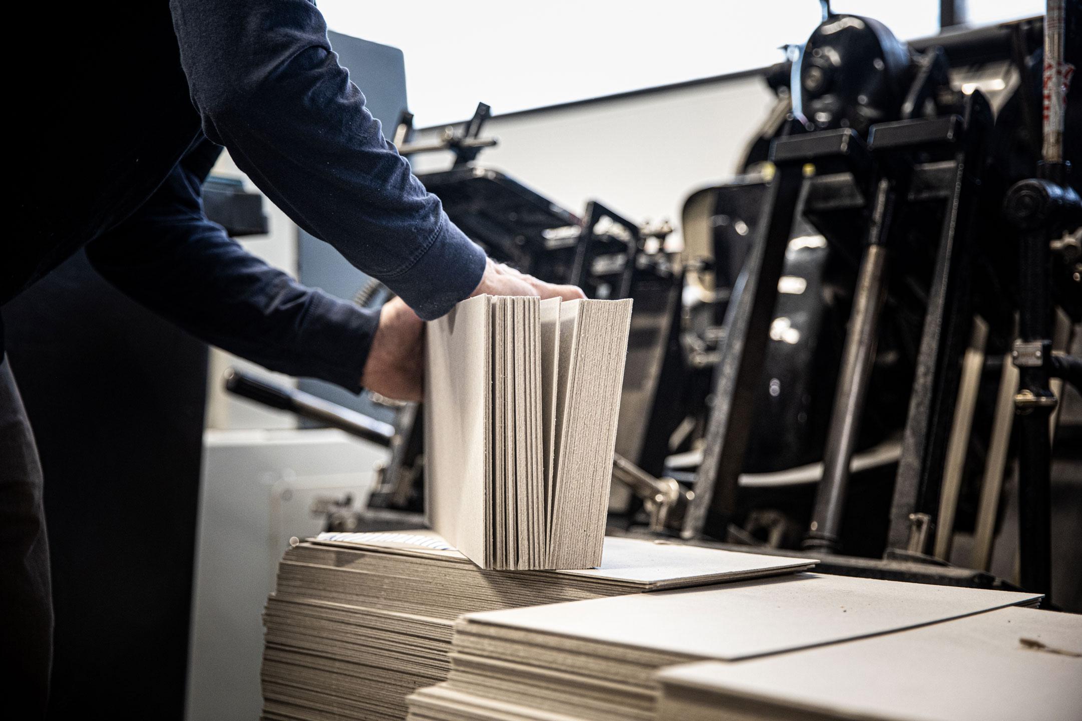 Matériel performant pour imprimer des livres